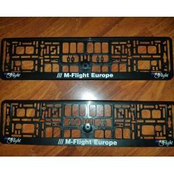 ///Mflight Licence Plate...