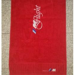 ///Mflight Club towel red
