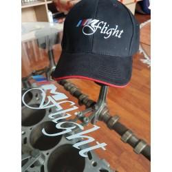 Base Cap Mflight Black - Red